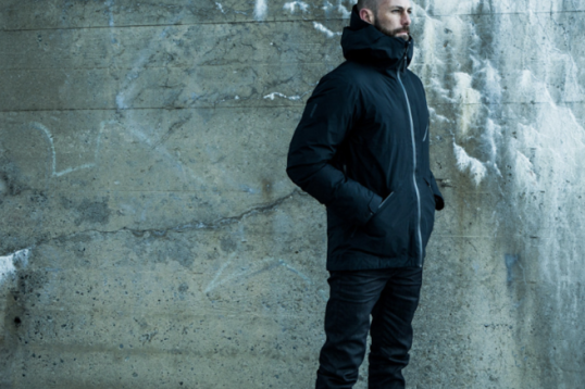 Men's jacket by Aether, source Aether